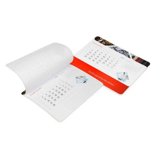 Podkładka z kalendarzem indywidualnym i drukiem na folii PK-IK