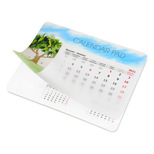 Podkładka z kalendarzem uniwersalnym i drukiem na folii PK-UK